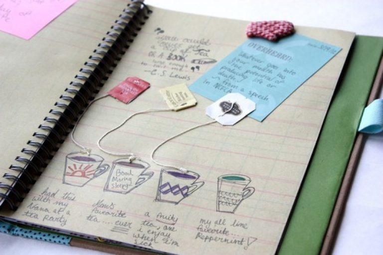 Дневник своими руками простой 444