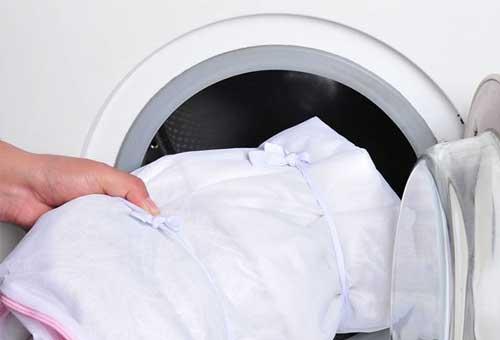 Как правильно стирать тюль чтобы была белая в стиральной машине автомат