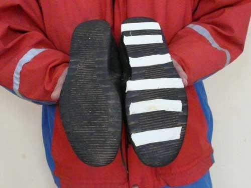 Что сделать, чтобы обувь не скользила? По Совету 83