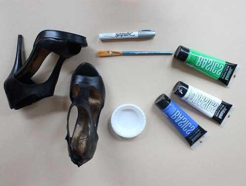 02-61 Реставрация и покраска обуви в домашних условиях