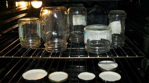 как стерилизовать банки в духовке пустые в электрической