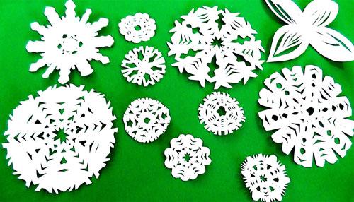 Сделать снежинки из бумаги своими руками большую 188