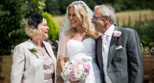 Благодарственные слова родителям от невесты