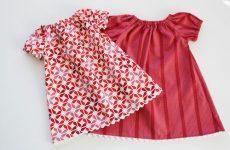 Как сшить платье для девочки своими руками без выкройки для начинающих?