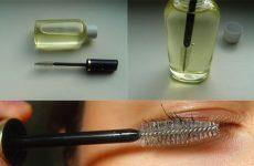 Применение касторового масла для ресниц и бровей