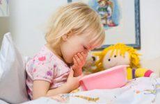 У ребёнка рвота без температуры и поноса: причины и первая помощь