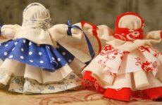 Как изготовить куклы-обереги своими руками из ткани, ниток, какие виды бывают?