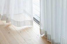 Как постирать тюль, чтобы она была белоснежной в домашних условиях?