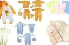 Что нужно купить для новорождённого ребенка: список вещей