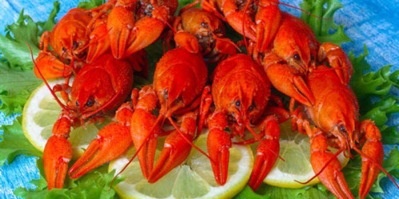 Как едят вареных раков в домашних условиях?