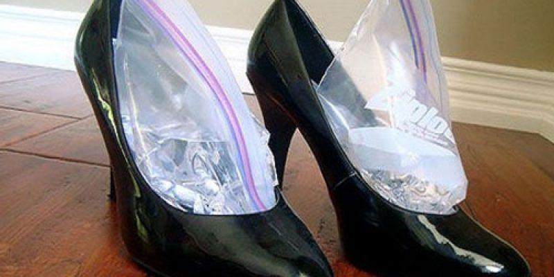 Растяжка обуви в домашних условиях из натуральной и искусственной кожи