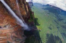 Самый высокий и большой водопад в мире