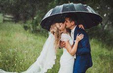 Что значит дождь в день свадьбы: примета