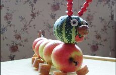 Красивые поделки из овощей и фруктов своими руками для детского сада