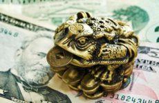 Куда ставить денежную лягушку с монеткой?