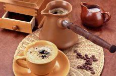 Как правильно сварить кофе в турке на плите?