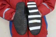 Как сделать чтобы обувь не скользила зимой?