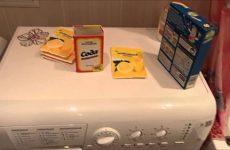 Как правильно почистить стиральную машину автомат от запаха лимонной кислотой?